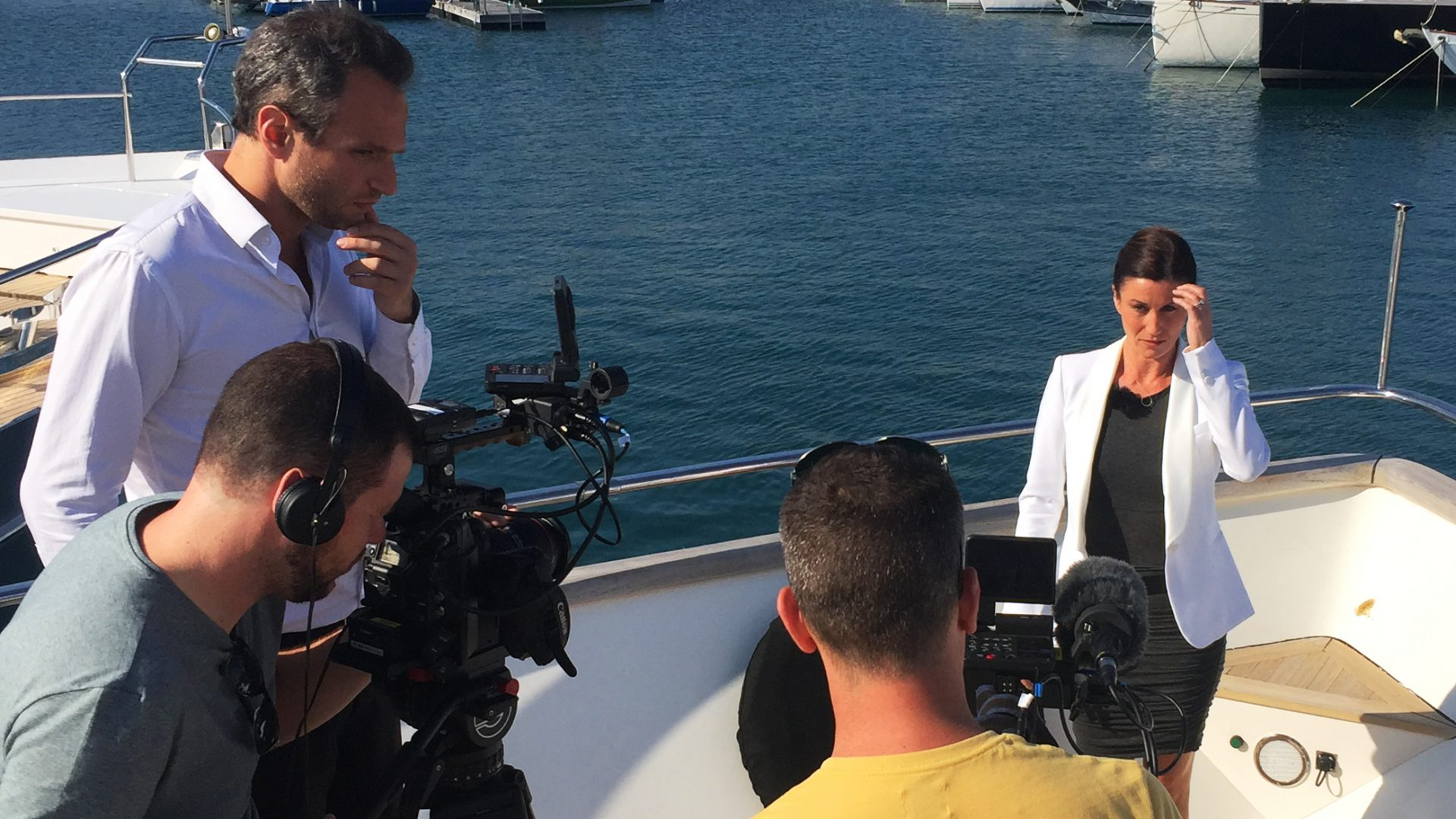 Bloomberg TV à Cannes