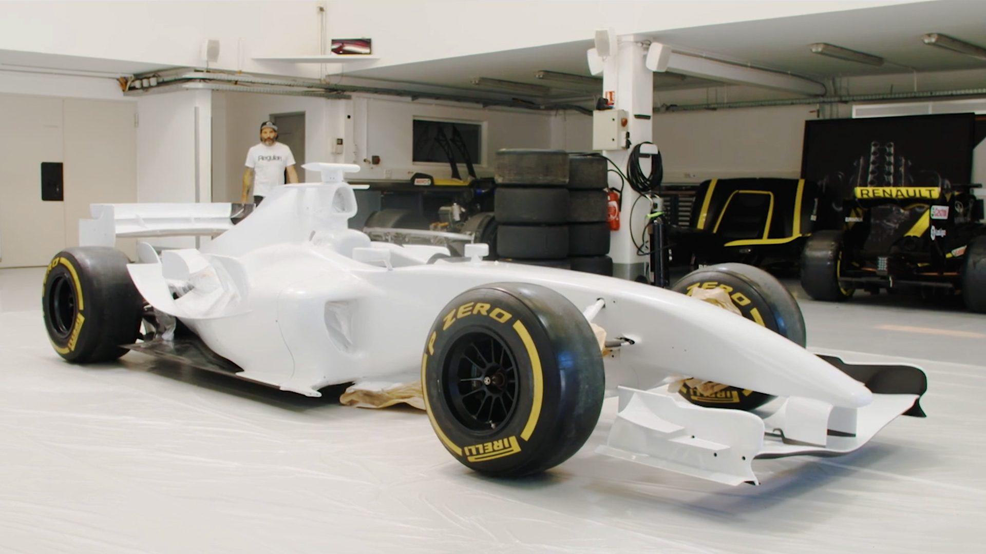Renault, Graffiti & Circuit Paul Ricard